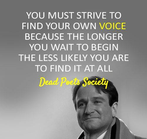 dead poets society   carrie mayhem